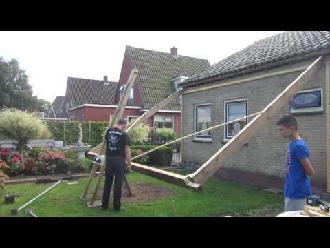 Hoe bouw je een veranda !! (Deel 1)