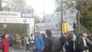 VORBEREITUNG START FRANKFURT MARATHON - Joey Kelly und Patrick Lange Frankfurt Marathon #marathon