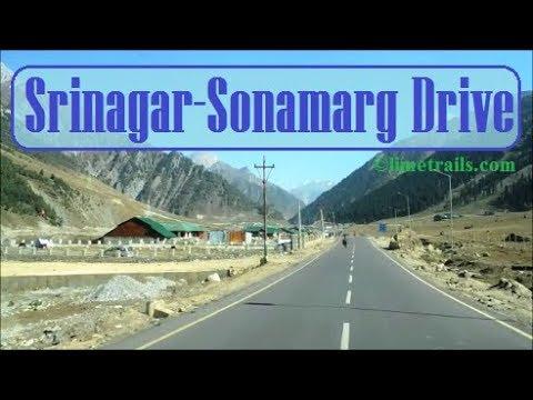 Srinagar To Sonamarg By Road Full Video October 2017 Kashmir Tourism | श्रीनगर से सोनमर्ग वीडियो I