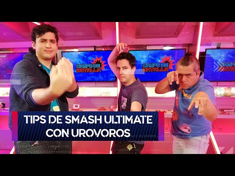 Tips de Super Smash Bros. Ultimate con Urovoros | Campo de Batalla