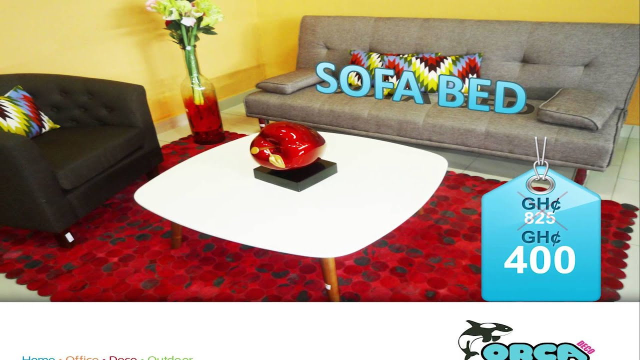 Sofa Bed Orca Deco Ghana YouTube