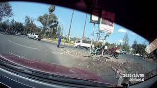 Kenya Motorcycle Accident Caught On Camera