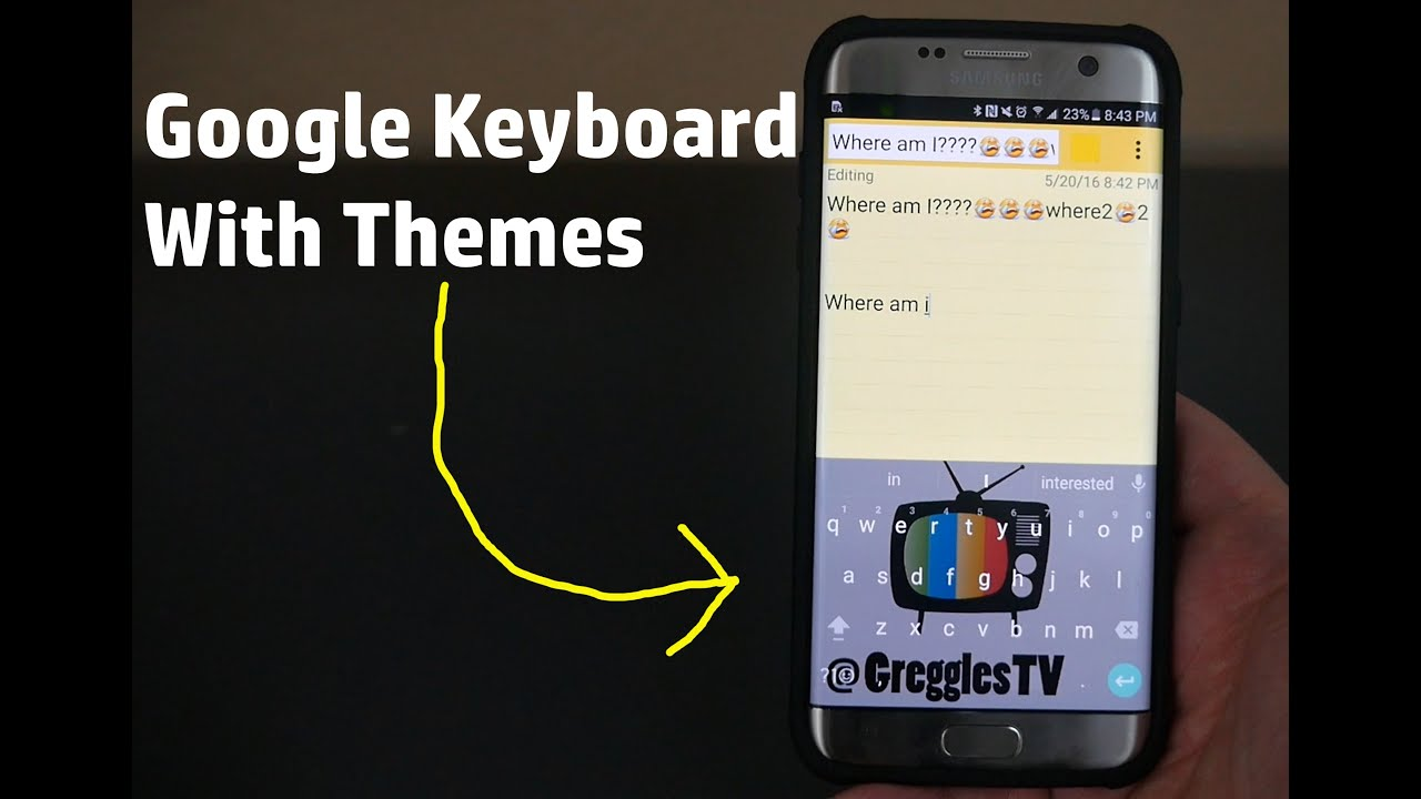 How to install google keyboard with themes on any android phone or how to install google keyboard with themes on any android phone or tablet voltagebd Choice Image