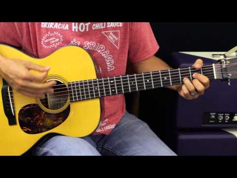 How To Play - Dierks Bentley - Drunk On A Plane - Acoustic Guitar Lesson - EASY - Country Song