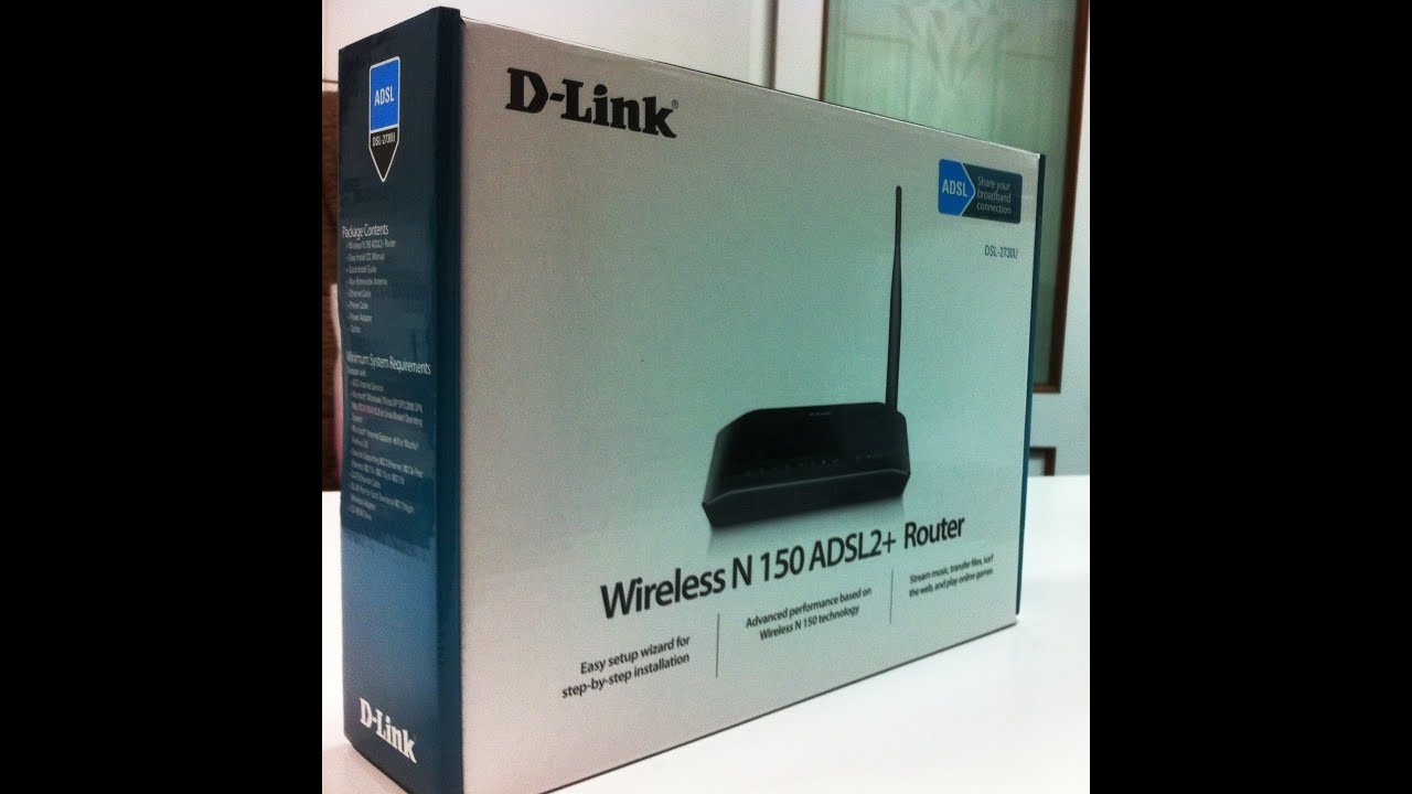 D-Link N150 ADSL2+ Wireless Modem Router Unboxing (INDIA) - YouTube