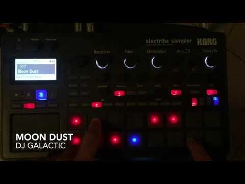 DJ Galactic - Moon Dust with Korg Electribe Sampler 2 / ESX2