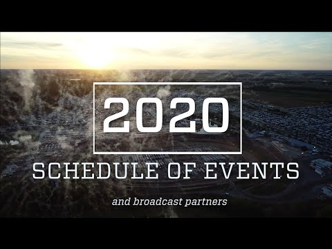 2020 Eldora Schedule PLUS Live Video Details