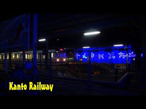 関東鉄道常総線 心の旅路 ディーゼルナイト 2015/01/08
