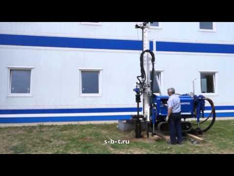 """Малогабаритная буровая установка на воду УБГ-Л-11 """"Альбатрос"""" на гусеничном ходу"""