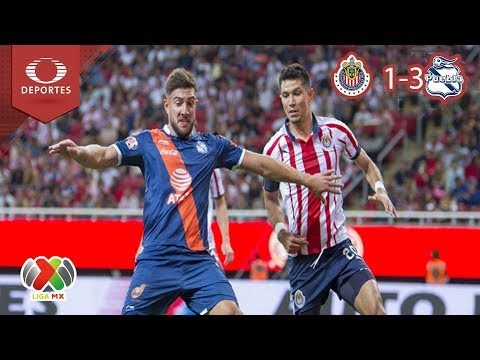 Resumen Chivas 1 - 3 Puebla   Clausura 2019 - J15   Televisa Deportes