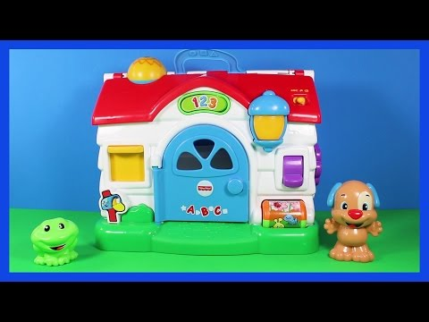 FISHER PRICE Laugh & Learn Puppy Activity Home TOY