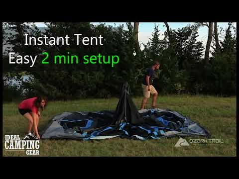 Ozark trail 10 Person Dark Rest Instant Tent