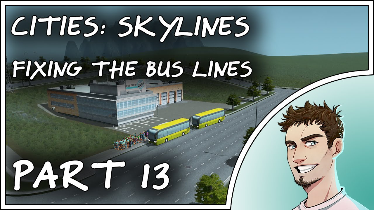 cities skylines how to delete bus lines