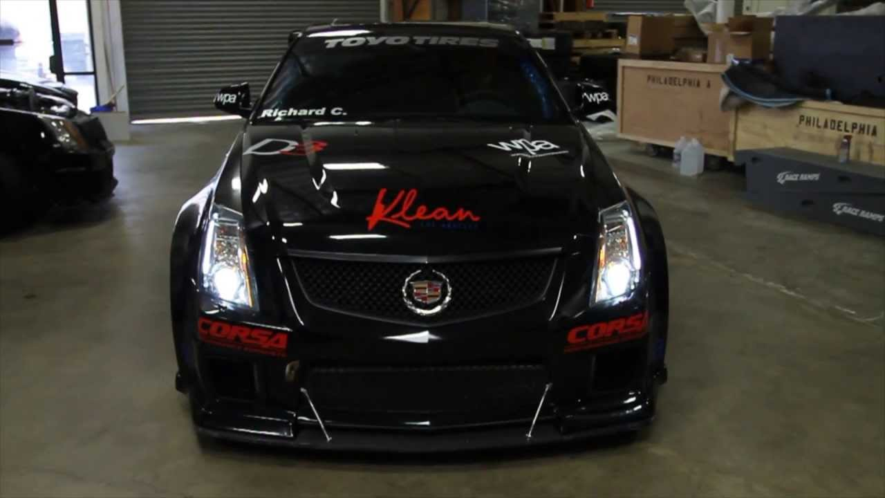Cadillac Ats V Coupe >> D3 Powered CTS-V Competition Widebody for WPA Motorsports - YouTube