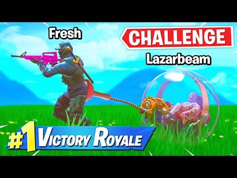 Fresh Becomes LazarBeams Babysitter!   Fortnite Challenge