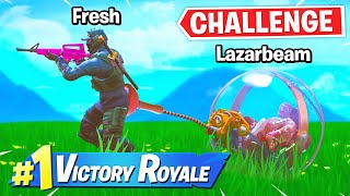 Fresh Becomes LazarBeams Babysitter! | Fortnite Challenge