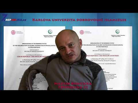 Martin Konvička - Univerzita Karlova dobrovolně islamizuje!