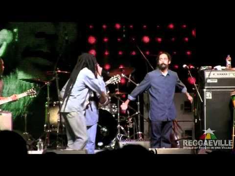 Damian, Stephen & Julian Marley  Exodus @9 Mile Music Festival 332012