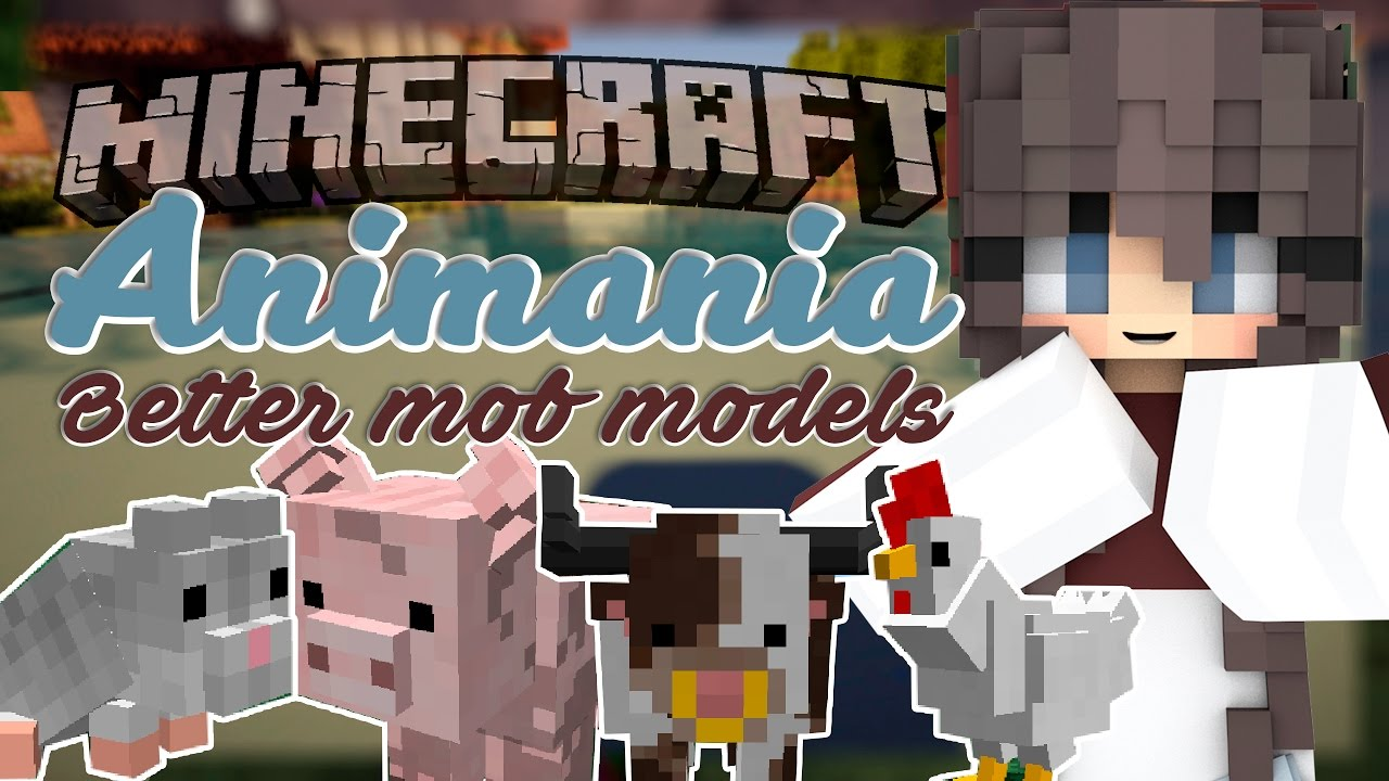 Animania: Chickens! Bit-by-Bit for Minecraft 1 11 2! by