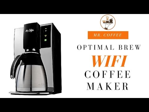 Mr. Coffee WeMo Wifi-Enabled Coffee Maker Review