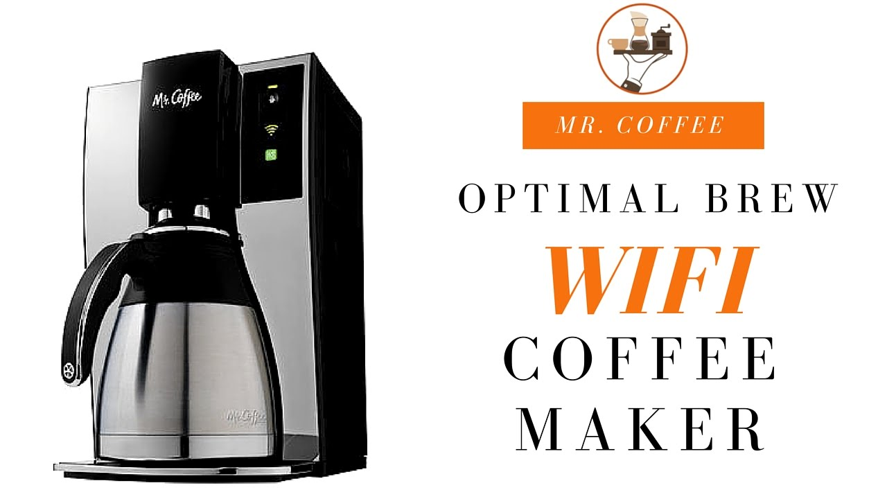 Mr. Coffee WeMo Wifi-Enabled Coffee Maker Review - YouTube