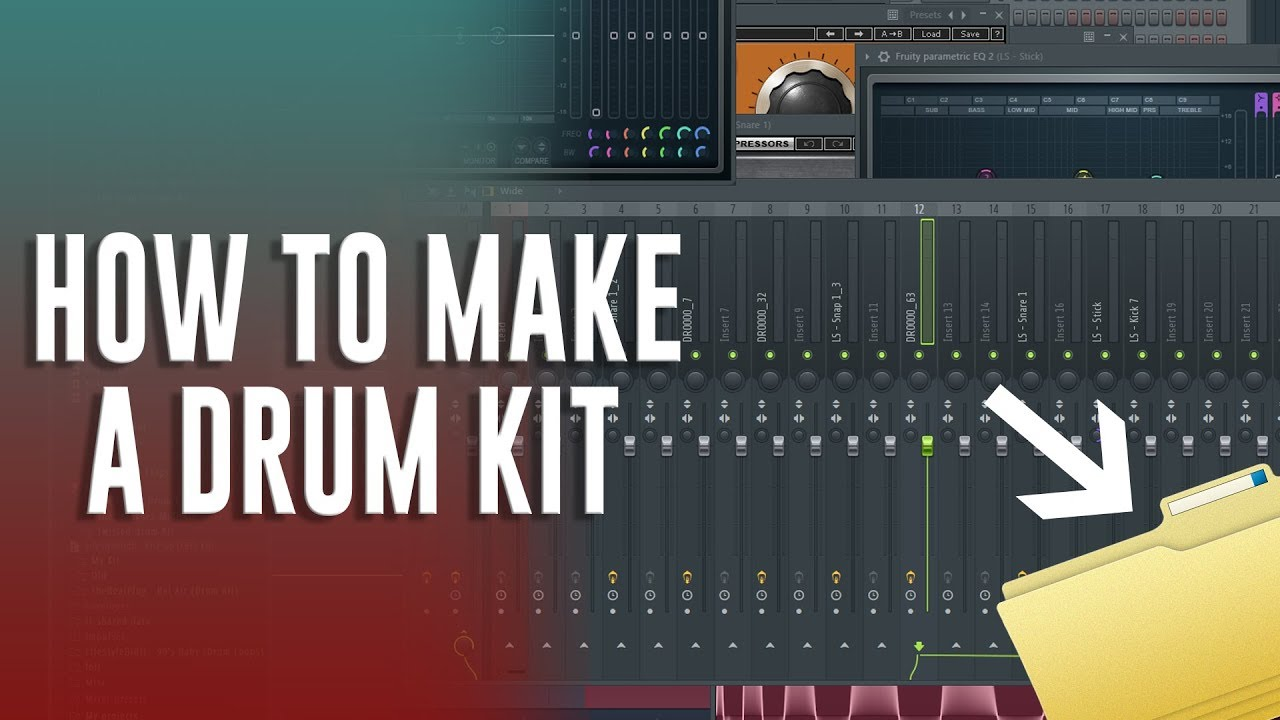 How to find & create FIRE drum samples for your DRUM KITS