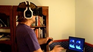 Oculus Rift Horror Game -- Alone in the Rift, Intense Reaction