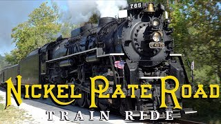 Riding The Nickel Plate Road #765 - My Experience
