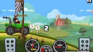 Обзор игры Hill Climb Racing (как можно заработать много денег)