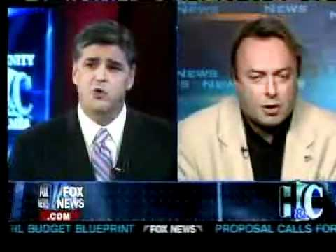Christopher Hitchens on Fox News Concerning Jerry Falwell's Death