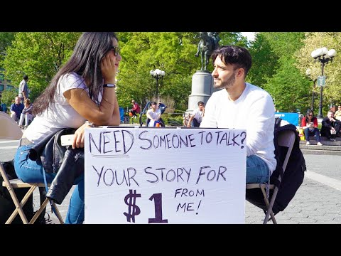 New Yorkers Share their Story for a Dollar - Part 1