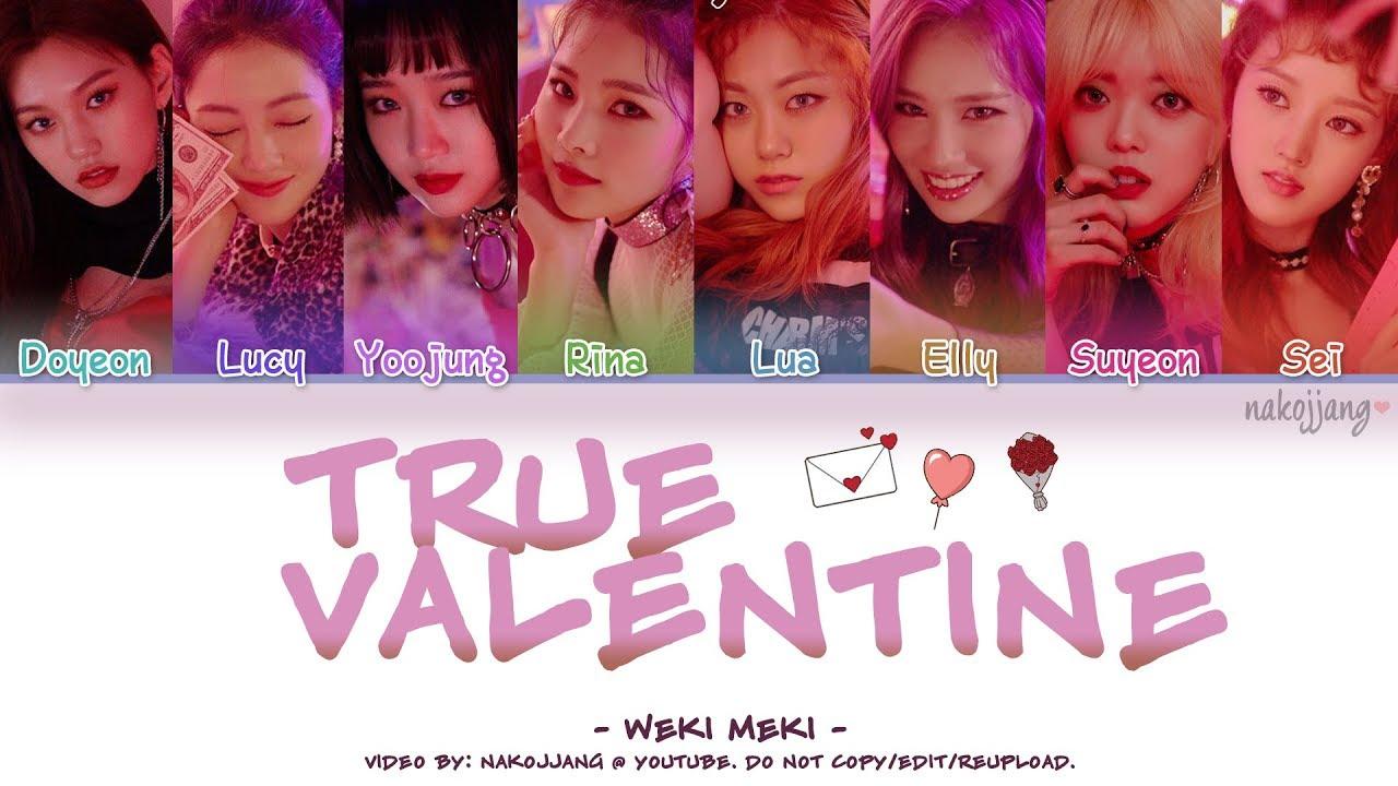 Weki Meki - True Valentine (위키미키)