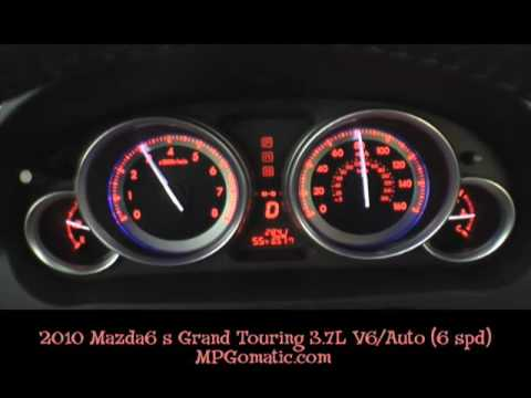 2010 mazda6 s grand touring 3 7l v6 0 60 mph youtube. Black Bedroom Furniture Sets. Home Design Ideas