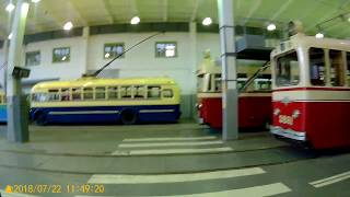 Санкт-Петербург.Музей городского электротранспорта.