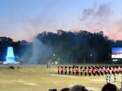 Finale, from 1812 Overture - Pyotr Tchaikovsky - Beating Retreat 2012