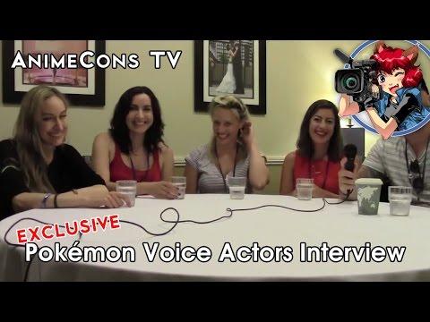 AnimeCons TV  Pokémon Voice Actors
