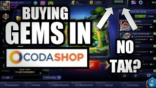 How To Use Codashop Without Load Ros