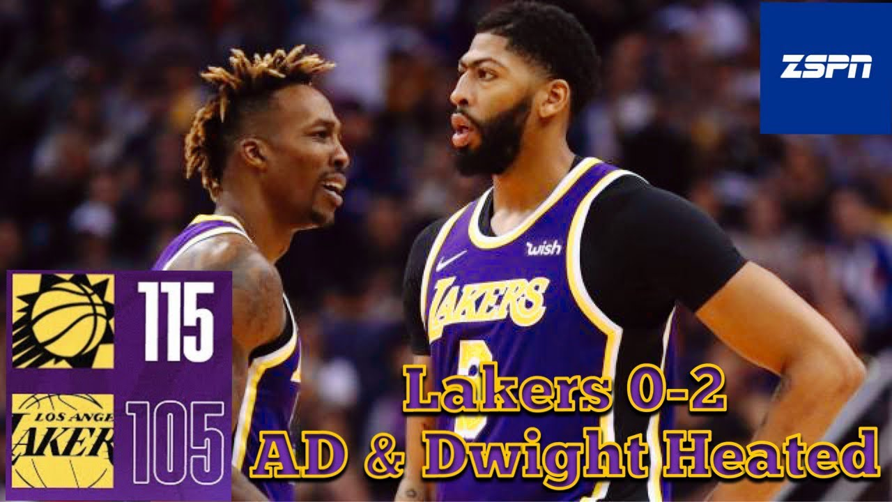 The Suns Set on Lakers in 115-105 Loss
