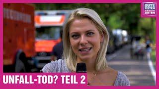 GZSZ Making-of | Valentina Pahde beim GZSZ-Action-Dreh mit schrecklichen Folgen! Unfall-Tod? Teil 2