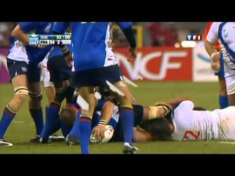Rugby 2007. Pool D. France V Namibia