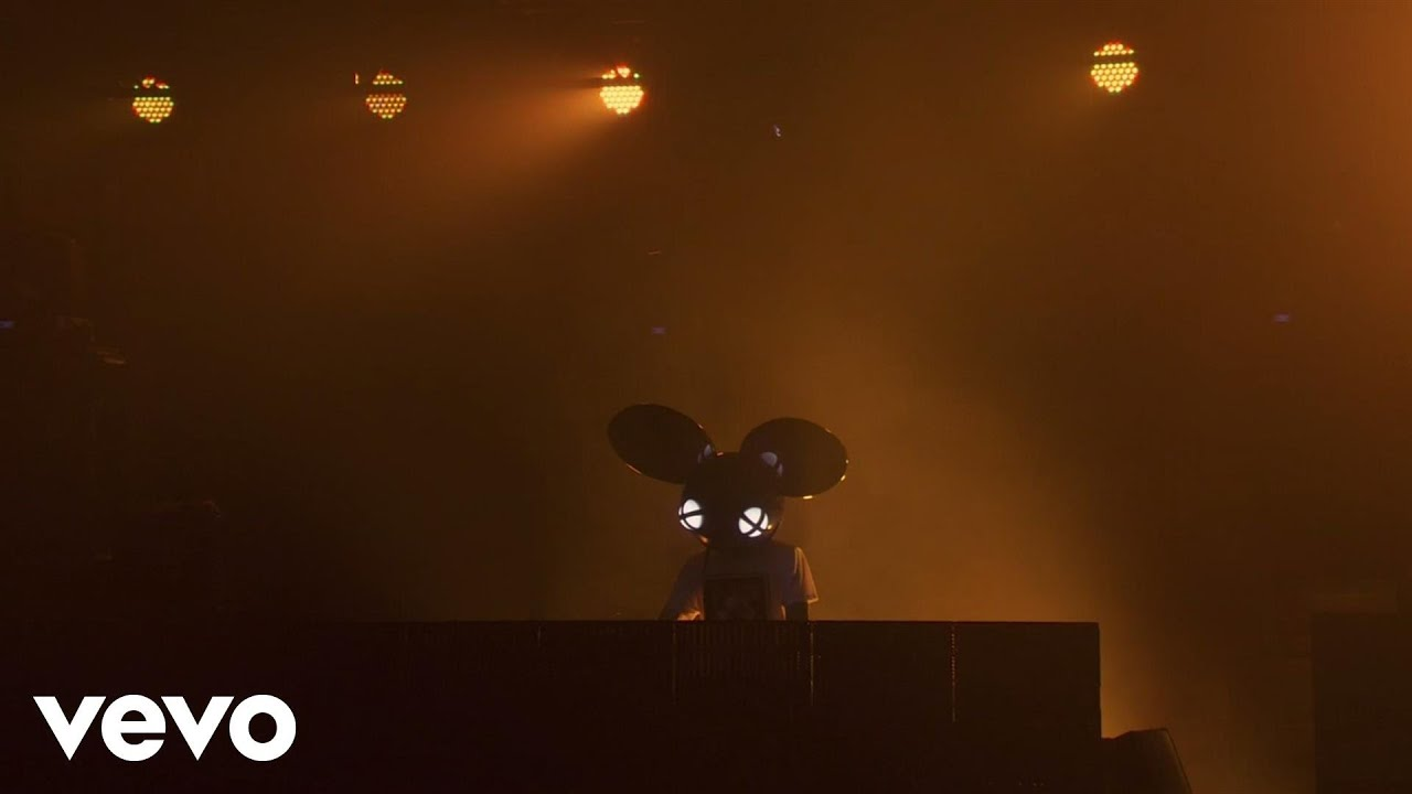 deadmau5 - Some Chords (Dillon Francis Remix) Live on the Honda Stage in NYC