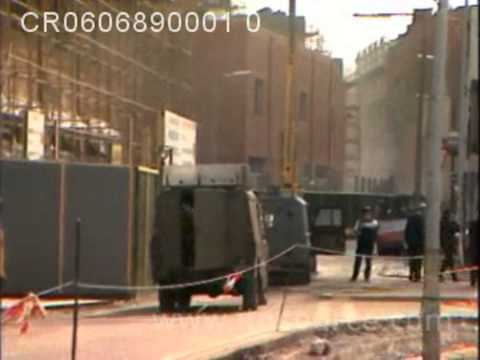 CastleCourt bomb explosion. Belfast 1989.