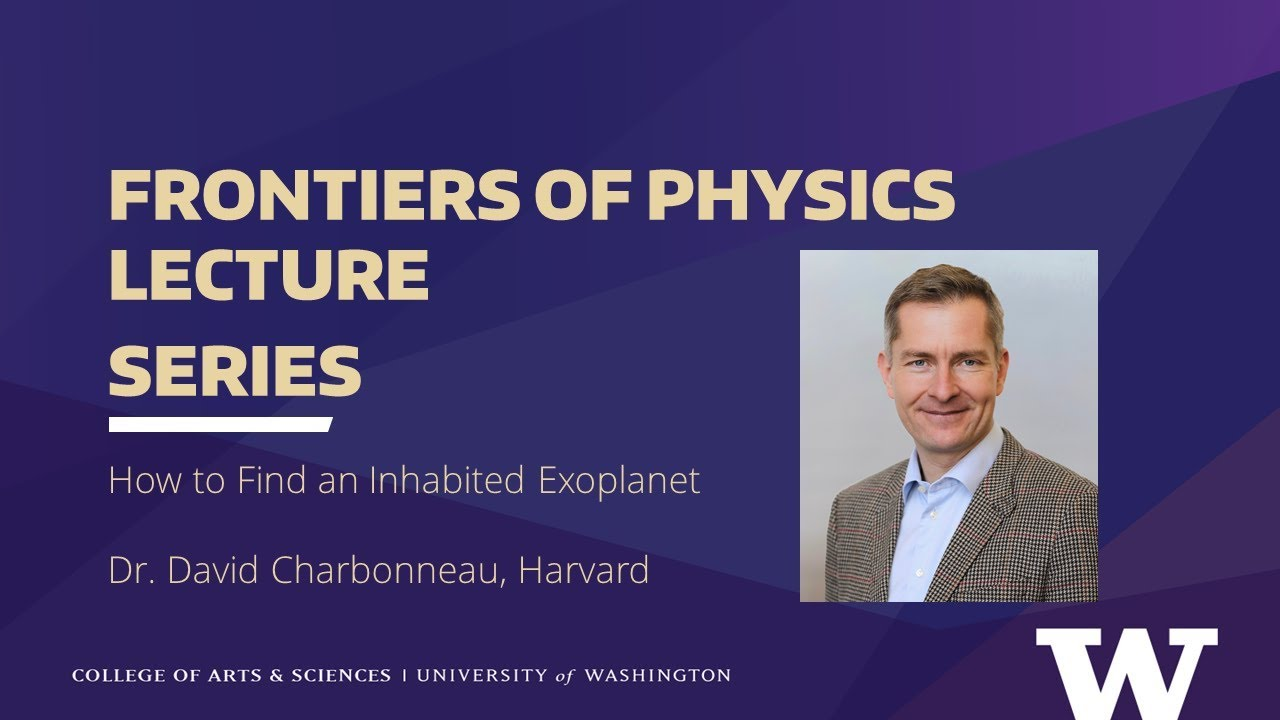 How to Find an Inhabited Exoplanet   Department of Physics