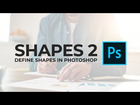 Define Custom Shape Problem In Photoshop - FIX