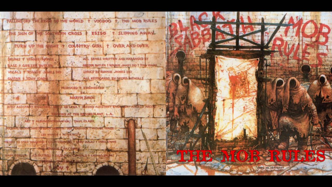 black sabbath - mob rules track 5  u0026quot the mob rules u0026quot   hd