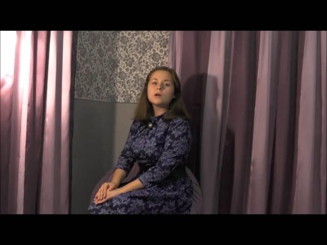 Анастасия Волобуева читает произведение «Настанет день - исчезну я» (Бунин Иван Алексеевич)