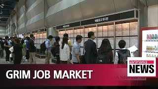 Unemployment rate for South Koreans aged 25-34 at 6.4% in July, highest since 1999