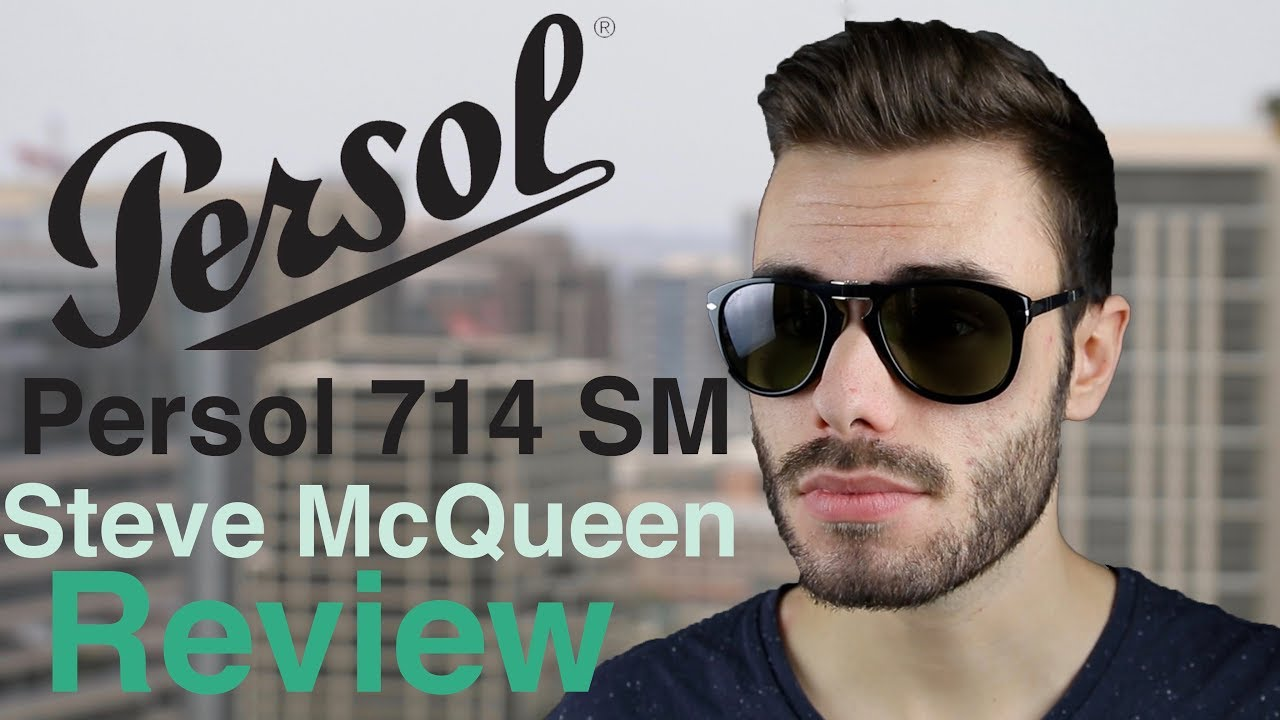 f3a7d52e2035f Persol 714sm Steve McQueen Review - YouTube