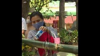 疫情影响下别样的泰国泼水节