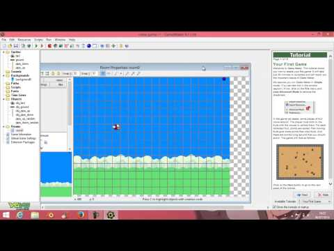 tutorial : how to make flappy bird from game maker